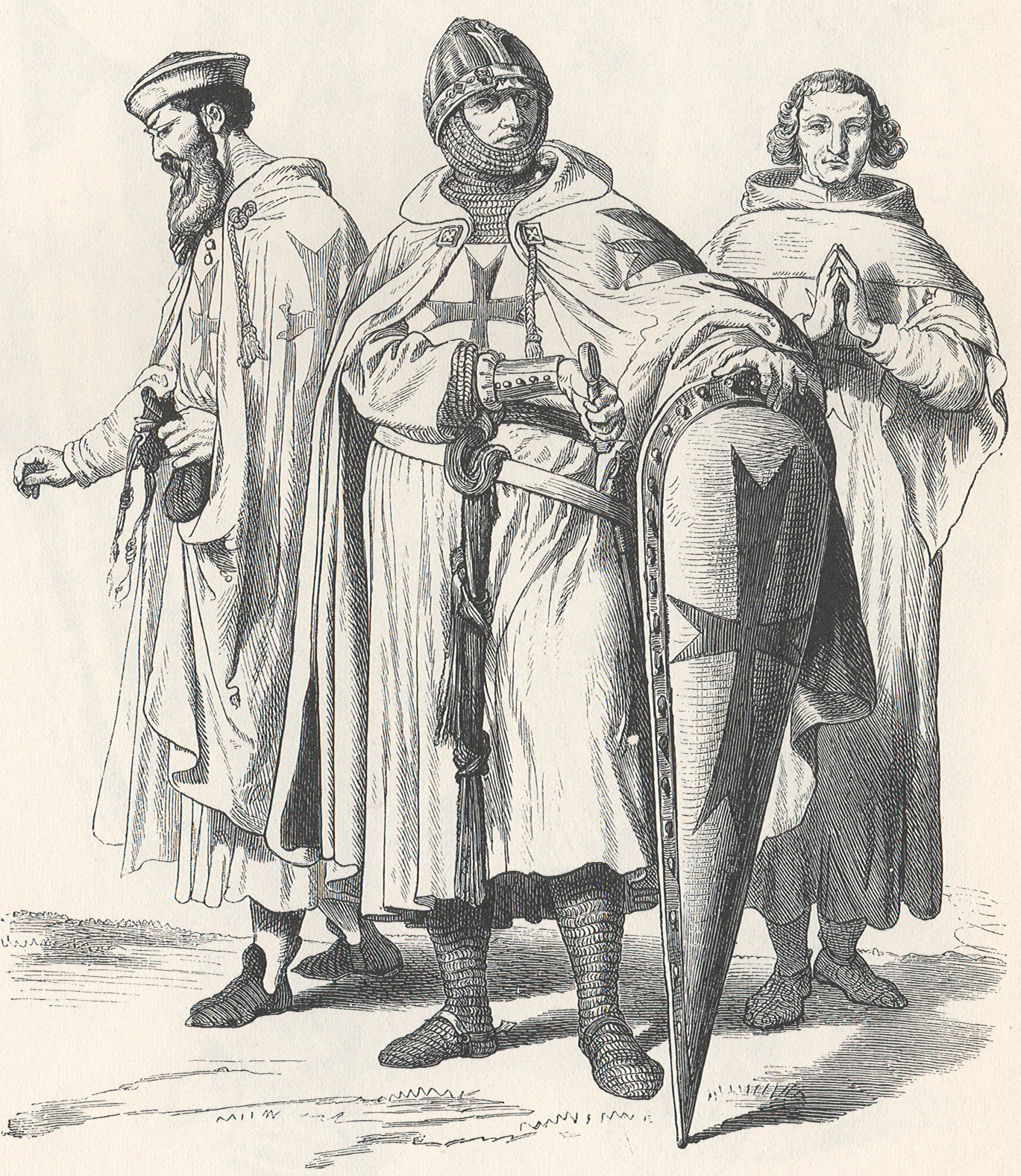 Knights Templar in Costume